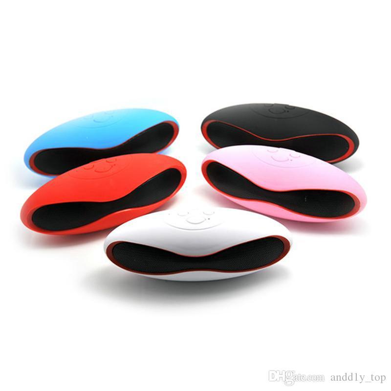 X6 Мини Беспроводные Bluetooth-динамики, которые формируют в Rugby Handsfree Портативный MP3-плеер Сабвуфер Стереозвук Динамик