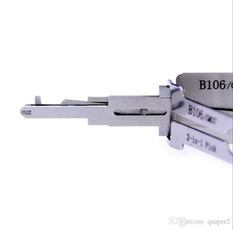 ليشي GM37 2 في 1 قفل اختيار وفك التشفير