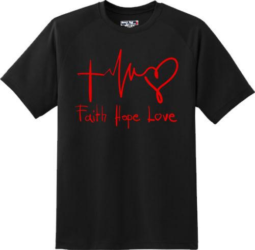2d19911e930f Faith Hope Love Religious Christian Shirt New Graphic Tee Tee Shirts Funny  Tee Shirt Sites From Valuebuy, $11.01| DHgate.Com