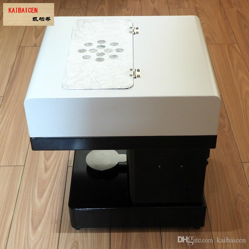 Kaibaicen 제조 업체 아트 커피 음료 프린터 음식 및 커피 프린터 초콜릿 프린터 음식 잉크 무료 공장 공급
