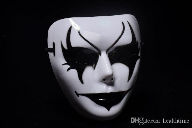 2018 Party Shuffle Dance Mask, Halloween Masquerade Dancers Masks Máscara de baile Hip-Hop para Navidad Fiesta de Halloween Estilos múltiples