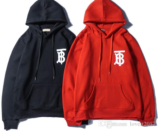 hot 18SS new Brand Mens Hoodies Sweatshirts With Branded Letters Luxury Designer Hoodie For Men Long Sleeve Pullover Coat Clothing
