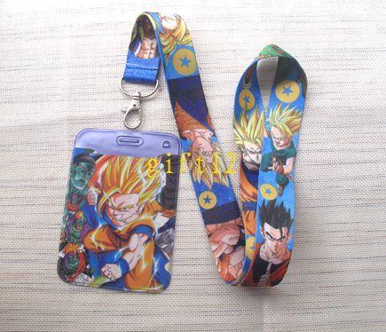 Grosshandel Neue Hybrid Style Japanischen Anime Dragon Ball Karte Setzt Lanyard Id Mit Schlusselbund Handy Strap D6 3 Von Gift12 054 Auf DeDhgate