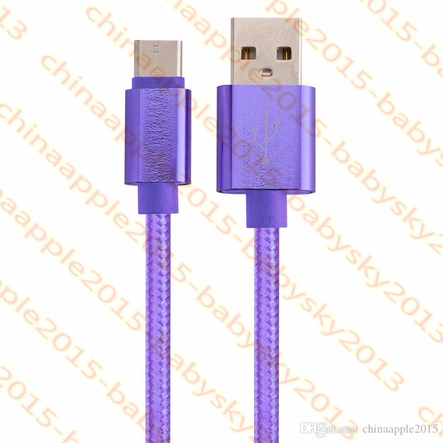 Быстрая зарядка Type c Micro Usb кабель 1 м 2 м 3 м OD 5.0 толщиной плетеный нейлон сплав кабель для samsung s6 s7 edge s8 s9 htc android телефон