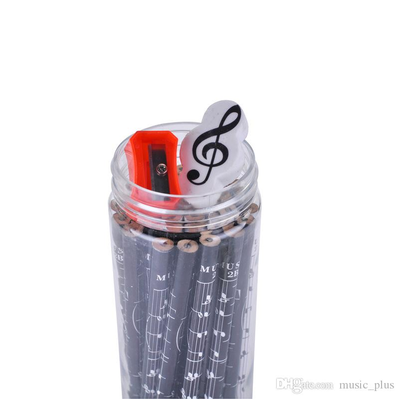 Music Sheet Pencils Fashion Pencils Lovely 2B Pencil Stationery For School With Gifts