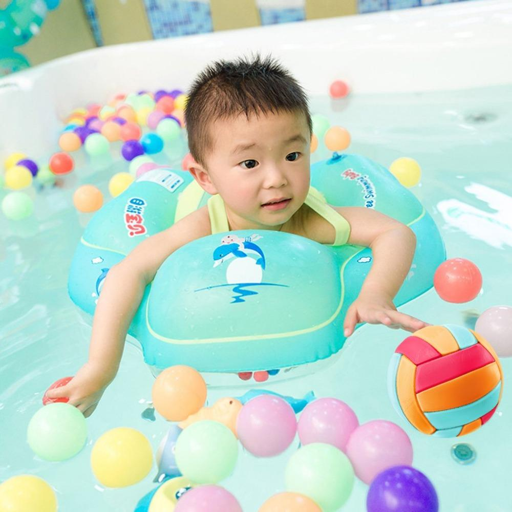 2018 Free Swimming Baby Inflatable Swim Ring Infant Armpit Floating ...