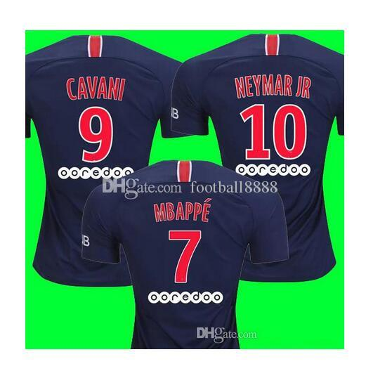 Men 18 19 Soccer Jersey Home 2018 2019 Away Paris Football Shirts 6  VERRATTI 9 CAVANI 10 NEYMAR JR 11 DI MARIA PASTORE UK 2019 From  Football8888 78165934a