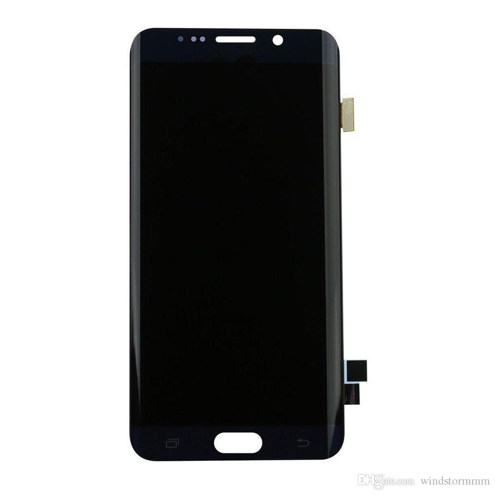 Original LCD Display Touch Screen Digitizer for Samsung Galaxy S6 white blue gold free DHL deliver the goods within 24 hours