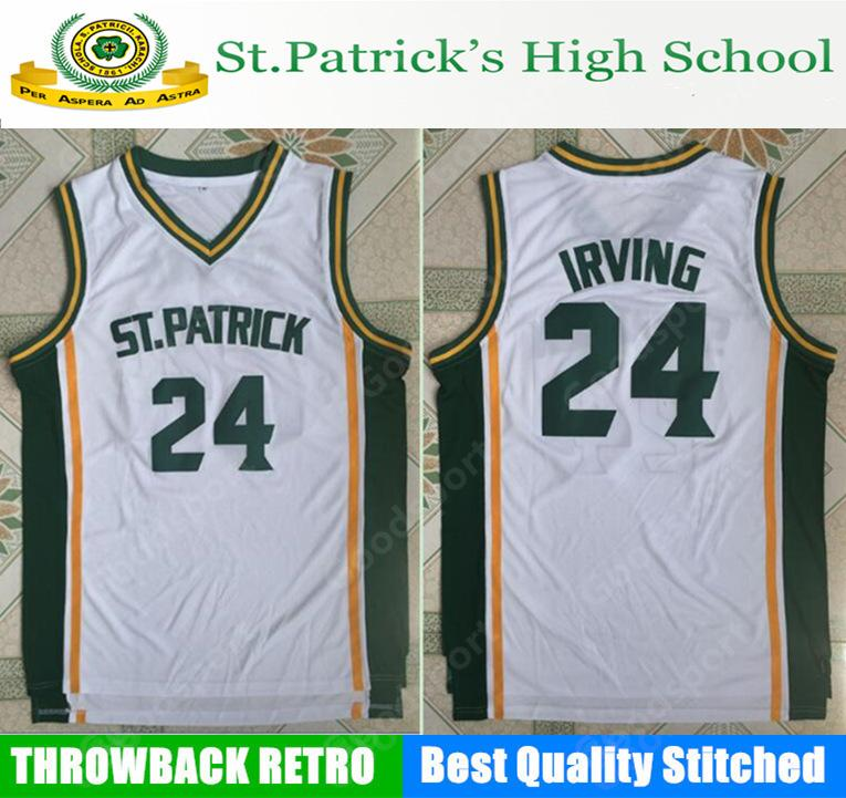 the latest 42f14 6ae52 free shipping kyrie irving stitched jersey a9f8e 29098