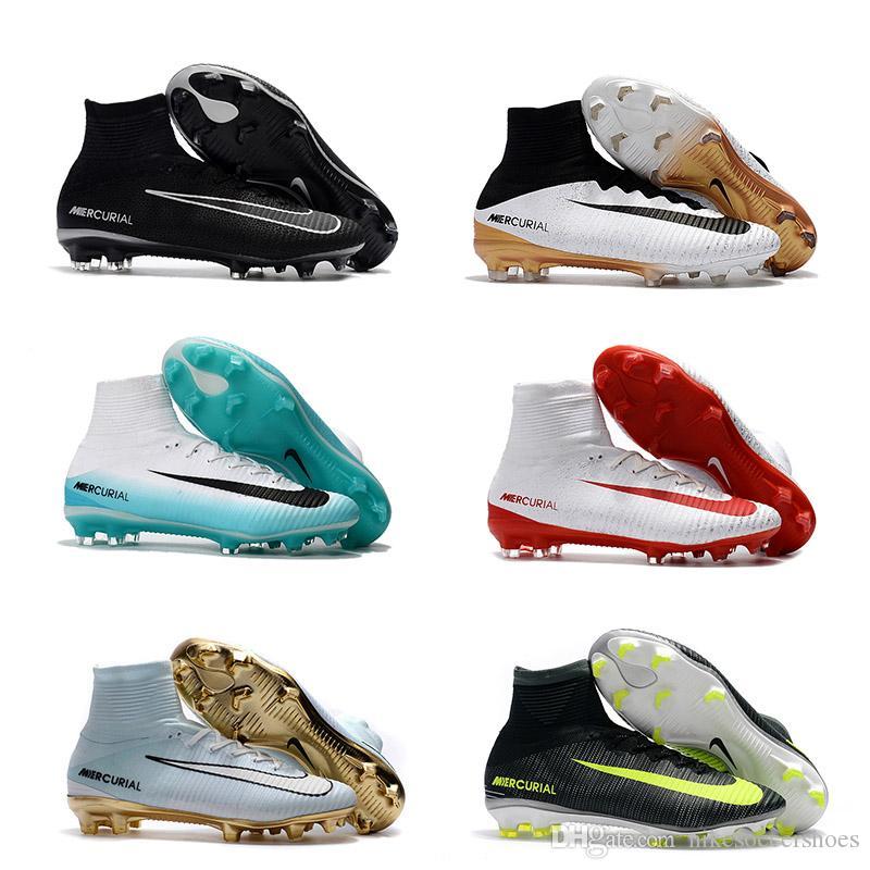 Compre Superfly V Fg Zapatos De Fútbol Para Hombre Botas De La Venta  Caliente Superfly Cr7 Vitórias Botas De Fútbol De Tobillo Envío Gratuito Superfly  V Cr7 ... 948f3cfdadf1d