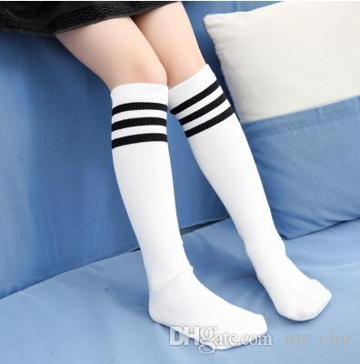 Toddlers Kids Baby Girl Knee High Socks Cotton Tights
