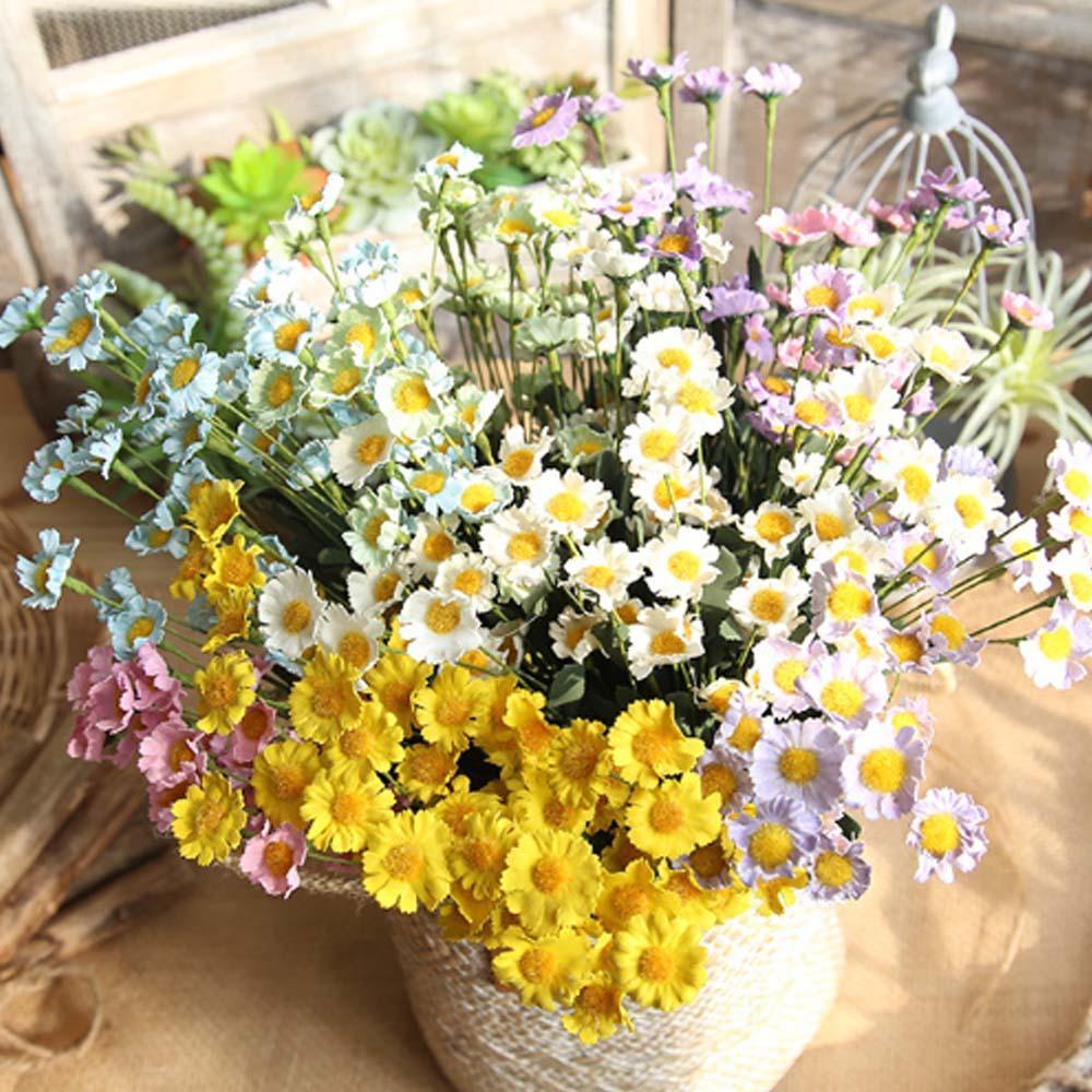 2018 Daisy Flowers 42cm Pe Foam Artificial Fake Flowers Plant For