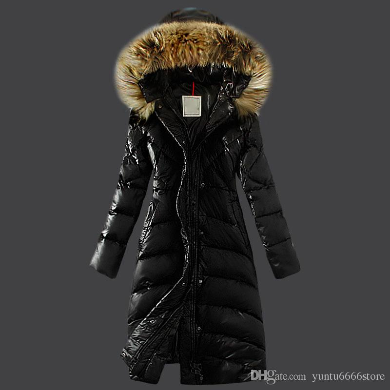0f1ac5c80 2018 Italy Brand New Women s Long Bear DOWN JACKET parkas Hoodie Black Red  Yellow Jacket Winter Coat/Parka With Free Shipping Outlet
