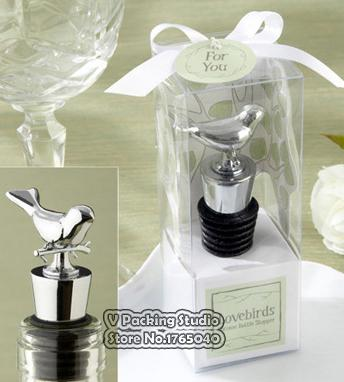 Love Birds Wine Stopper Wedding Favors And Give Away Gifts Party Return Goods For Guest Gift Wrap Sale Gift Wrap Set From Zhexie $229.35| DHgate.Com & Love Birds Wine Stopper Wedding Favors And Give Away Gifts Party ...