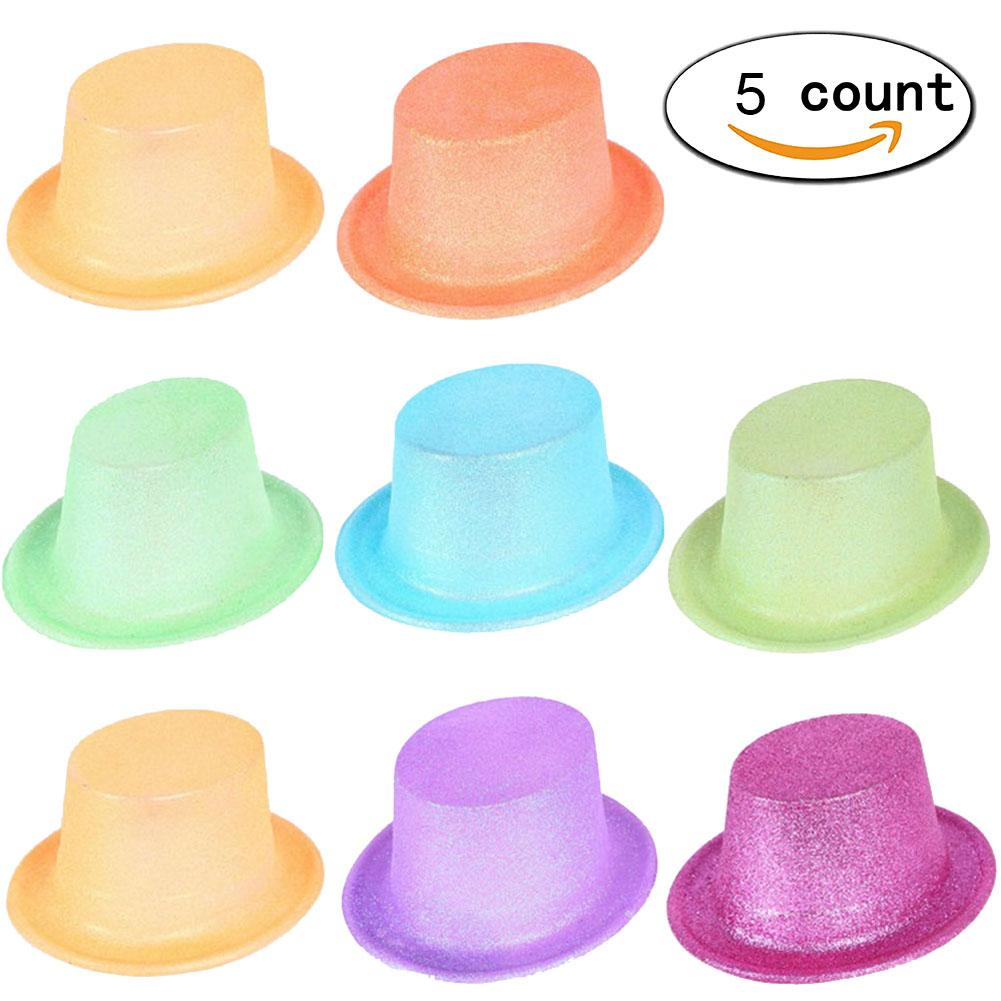 9d965faef26 Party Hats With Fluorescence Flash Powder Jazz Hats For Themed ...