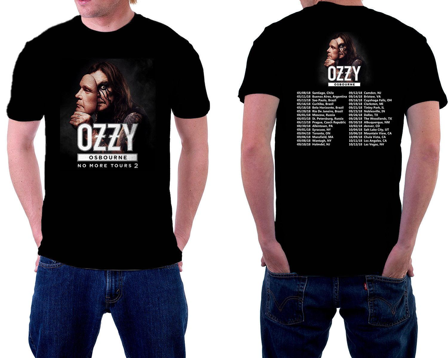 3d4d9dc2 Ozzy Osbourne Tour 2018 Tshirt With Tour Date Black Color New Design S 3XL  Best T Shirts Shirts Online From Beidhgate04, $11.17| DHgate.Com