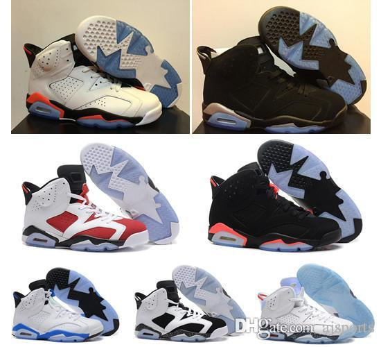 Women basketball shoes sneakers 6s 6 white infrared chrome sport blue Hare carmine red alternate Oreo cheap new basket ball with box outlet wiki genuine online discount for sale discount visit new pick a best ve2n0