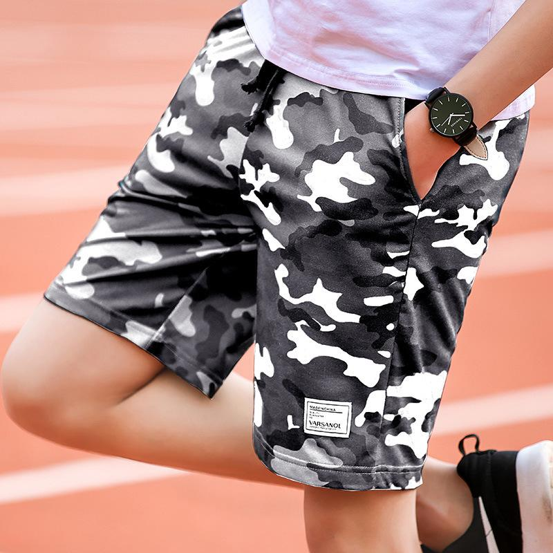 848d29562cc 2018 Man Summer Shorts Korean Fashion Easy In Pants Camouflage ...