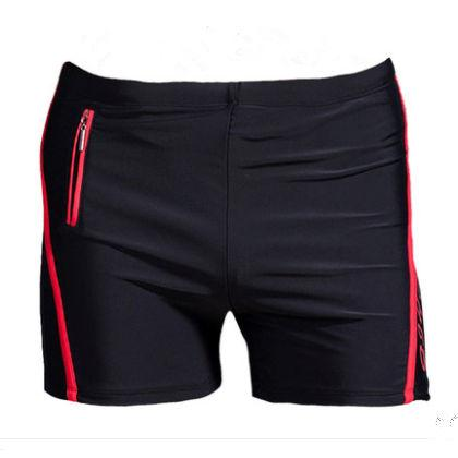937aef8f6ac6 Xl -6xl Tallas grandes traje de baño hombres bañador de la cremallera del  bolsillo del traje de baño Mens Swim Shorts Beach Hombre Wear ...