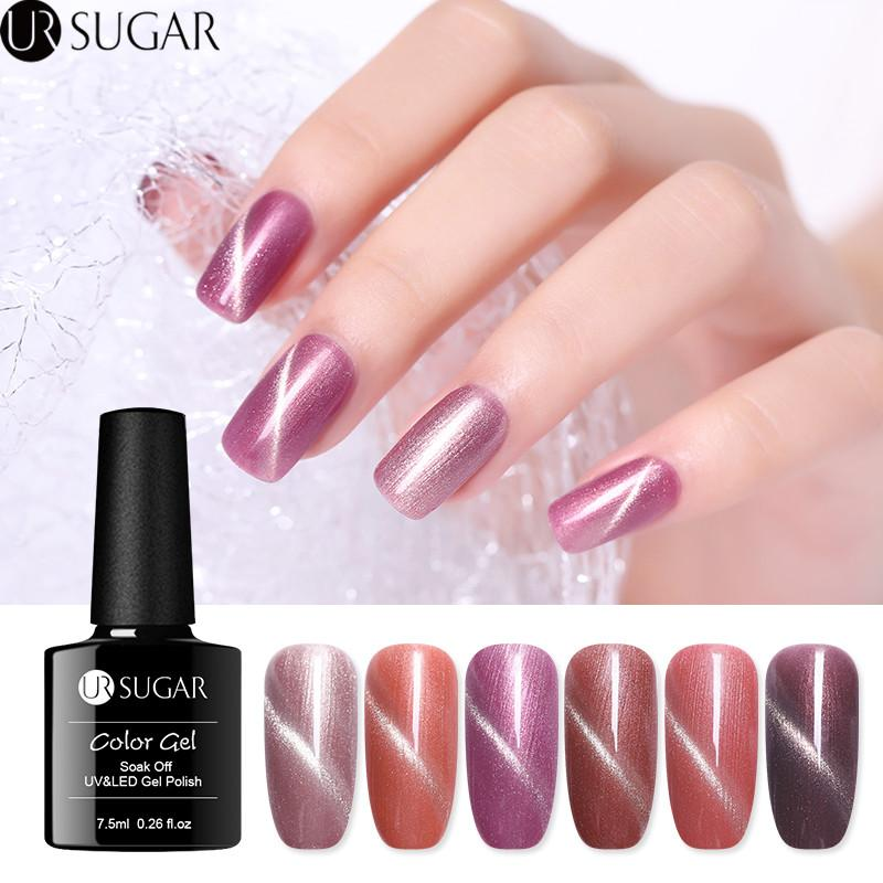 Acquista Ur Sugar Gel Occhi Gel Oro Rosa 75ml Smalto Unghie Gel Uv