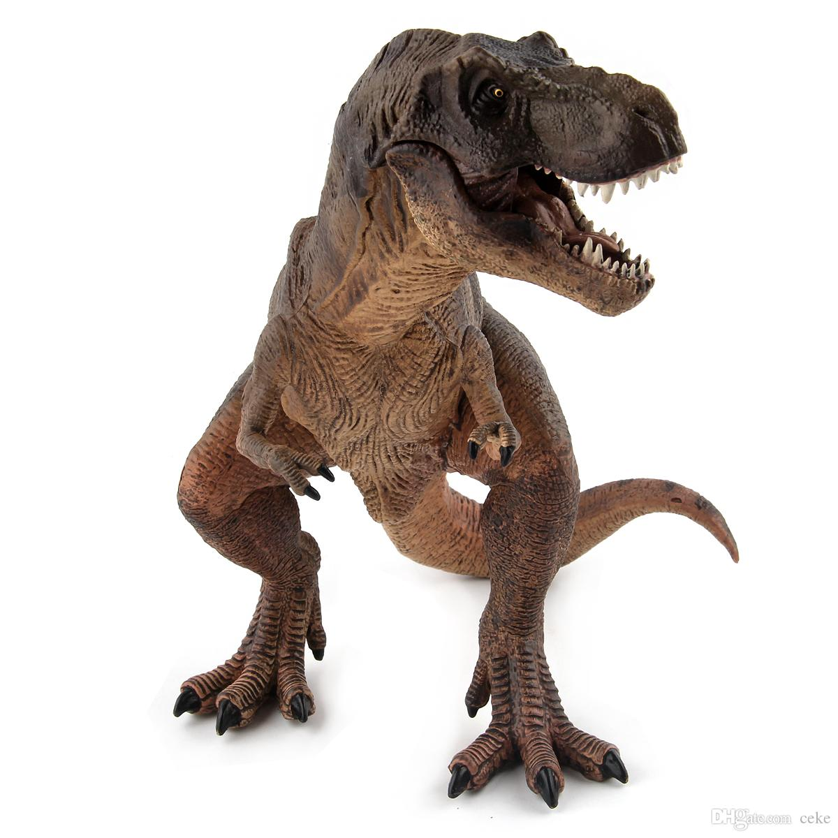 Jurassic World Toys Brown And Green Kid Toy Action Figure Plastic Dinosaur  Toys PVC Animal Model