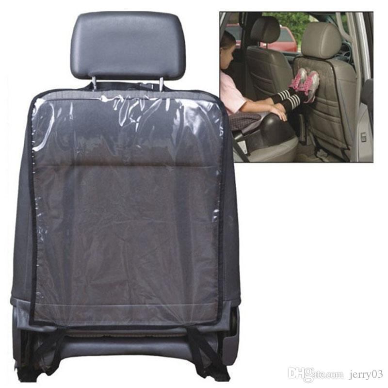Transparent Car Accessories Baby Boy Toddler Anti Kick Mat Car Back ...