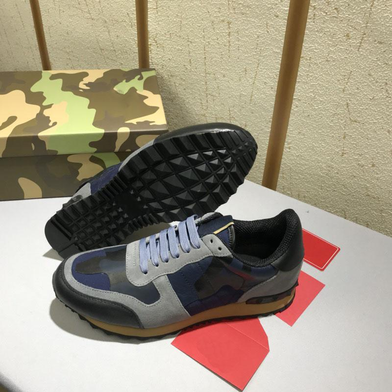 d4578a4c5806c 2019 Garavani CAMOUFLAGE ROCKRUNNER TRAINER LACE SNEAKER Fabric Canvas  Outdoor Running Shoes Sneakers Mens Casual Shoes Sneaker From Xiaonanzi, ...