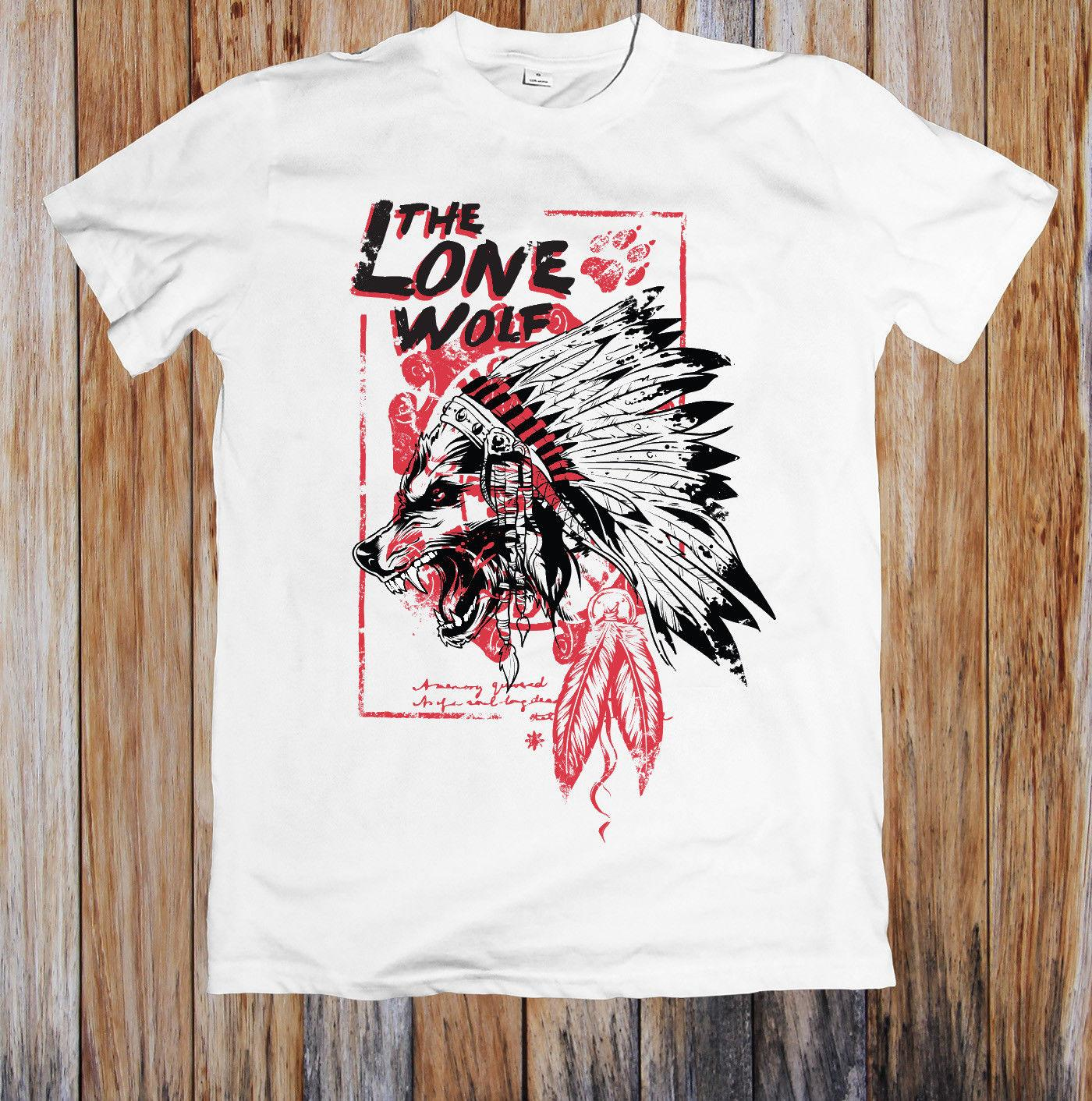 a37f2f919 The Lone Wolf Unisex T Shirt Hot Sell 2018 Fashion T Shirt Short Sleeve  Tricolor New T Shirts Funny Tops Tee New Unisex Funny Womens Shirt T Shart  From ...