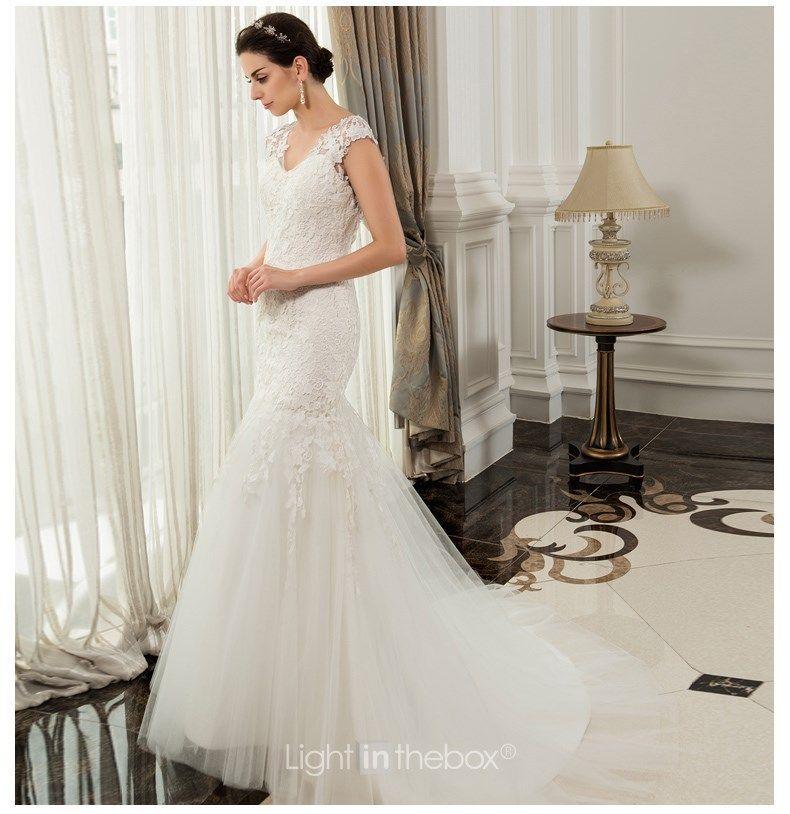 vestido de noiva bridal gown robe de mariage 2018 new sexy romantic casamento bride lace wedding dresses