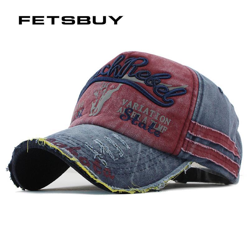 95763fa8ee4 FETSBUY Baseball Cap Women Hats For Men Trucker Brand Snapback Caps MaLe  Vintage Embroidery Casquette Bone Dad Hat Cap F117 Cap Hat From Milknew