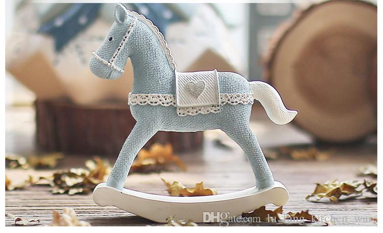 Resin Cute Horse Home Decor Birthday Gifts For Girl Ins Hot Decoration Child New Style Desktop Wholesale
