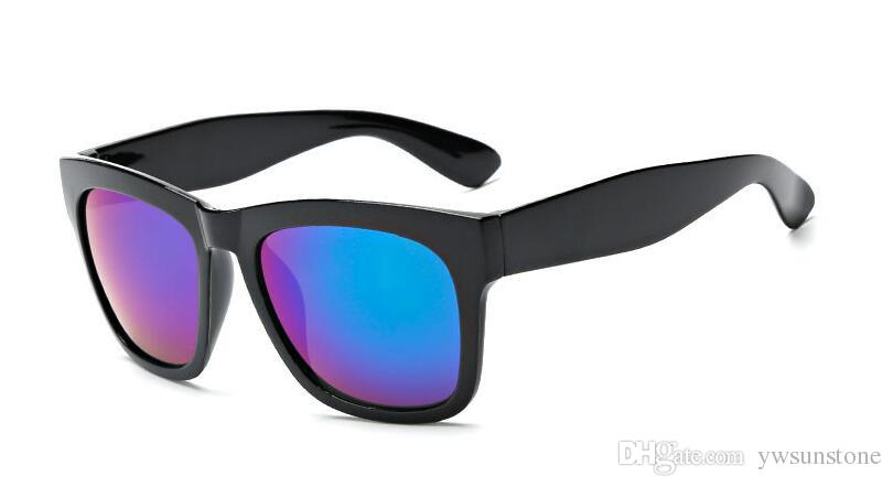 2018 Yeni Marka Tasarım Kadın Güneş Vintage Stil Renkli Film Sürüş Güneş Gözlükleri UV400, 20 adet / grup