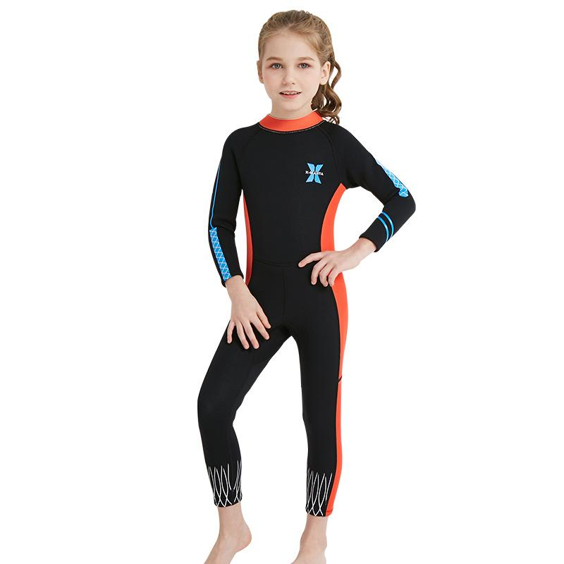 6aa4da4d19c Unisex Toddler Kids Swimming Costumes Girls Swimwear Beach Swimsuit Bathing  Suit Beachwear UPF50+ One Piece Sun-Protection Suit