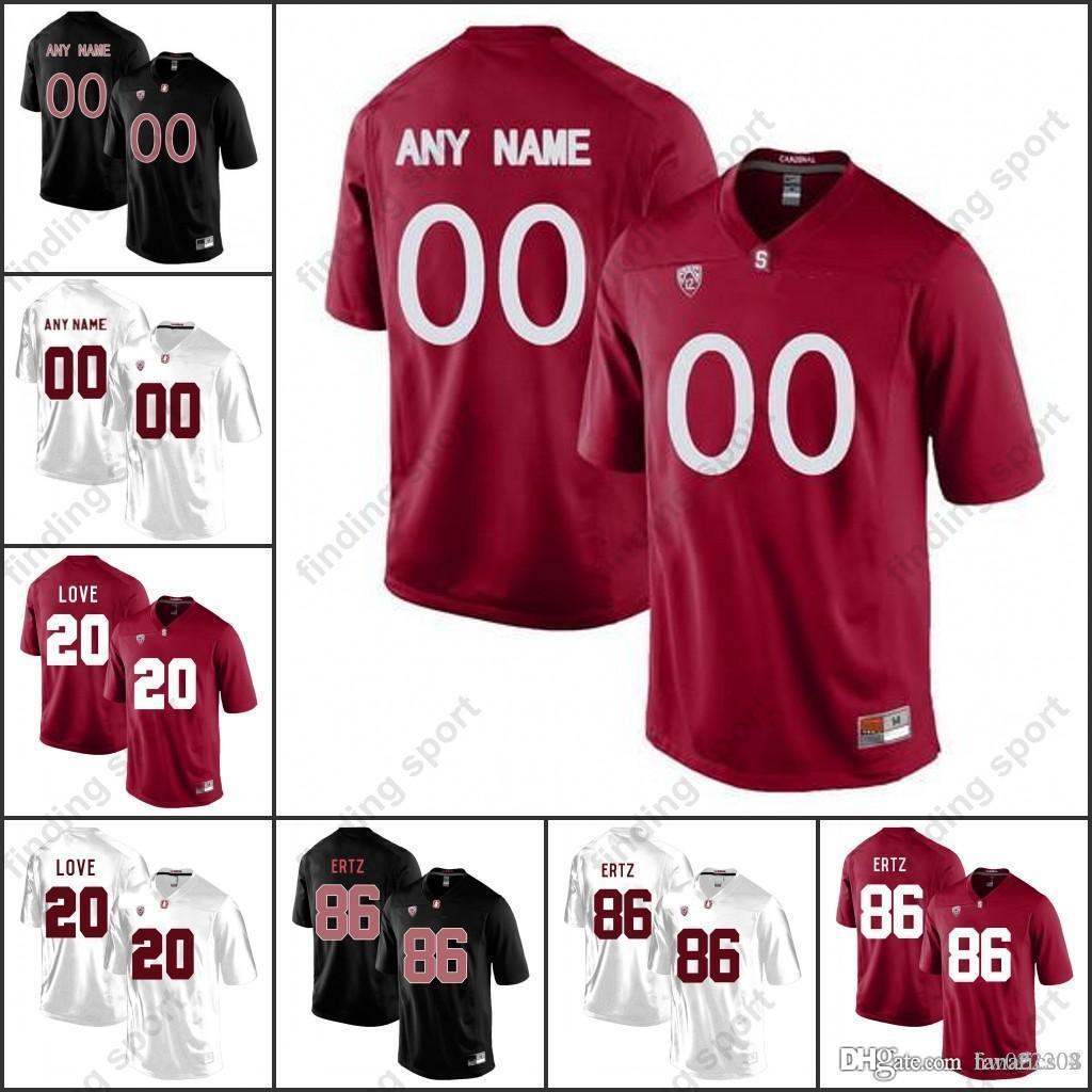 1fe78fe15 2018 Custom NCAA Stanford Cardinal College Football Jerseys Men ...