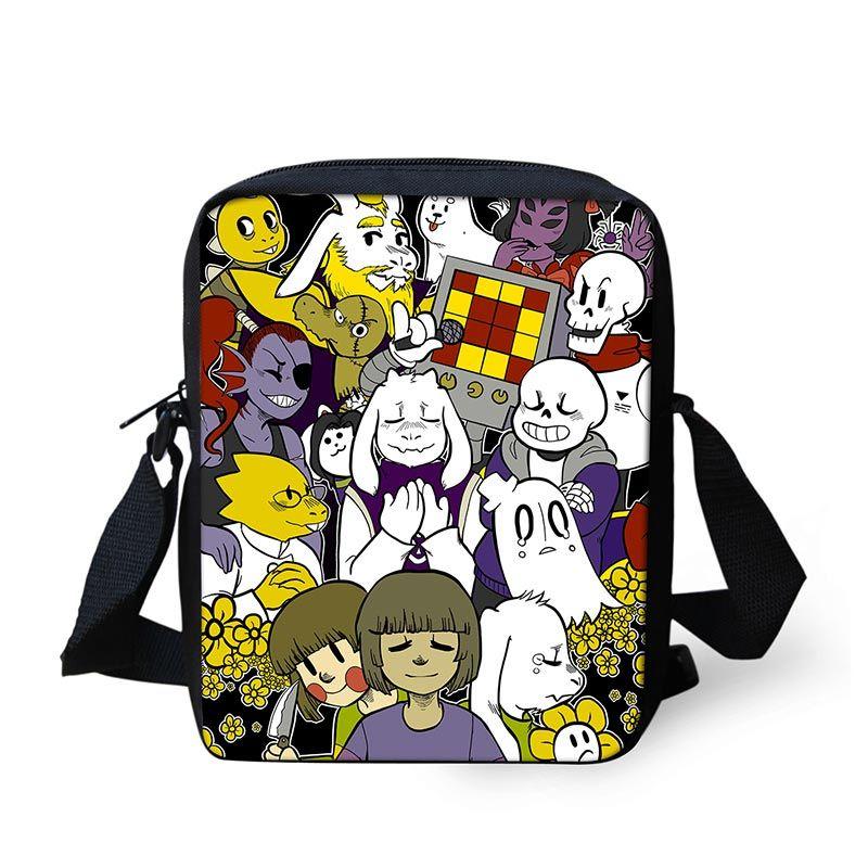 undertale games messenger s girls mini crossbody bag shoulder bags