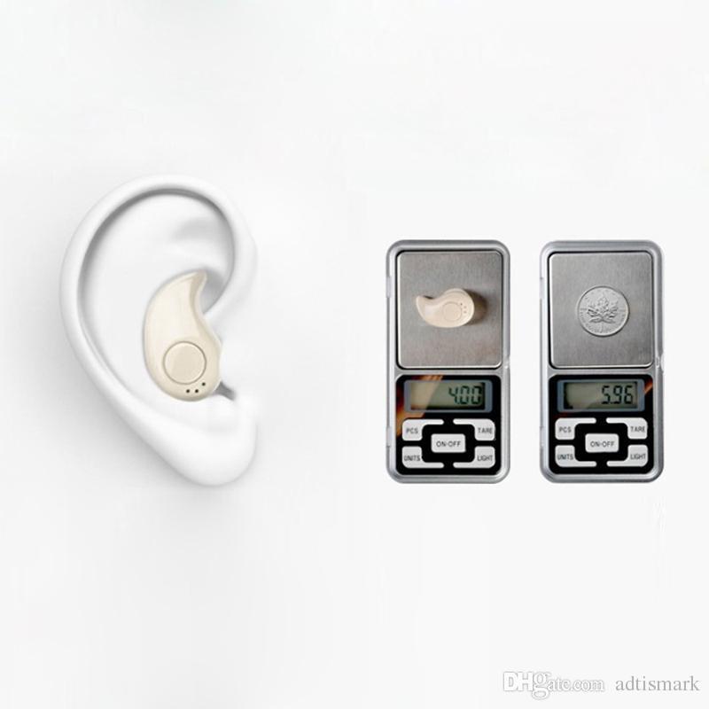 رياضة الجري S530 ميني ستيلث اللاسلكية بلوتوث 4.1 سماعات ستيريو سماعات الموسيقى سماعة ل iphoneX فون 8 لسامسونج NOTE8