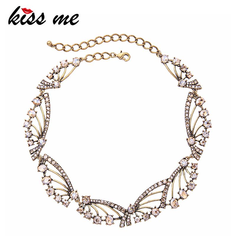 5526db8ea Wholesale Geometric Champagne Crystal Choker Necklace Indian Fashion Women Statement  Necklace Retro Accessories Online with  24.71 Piece on Zhoukoucharm s ...