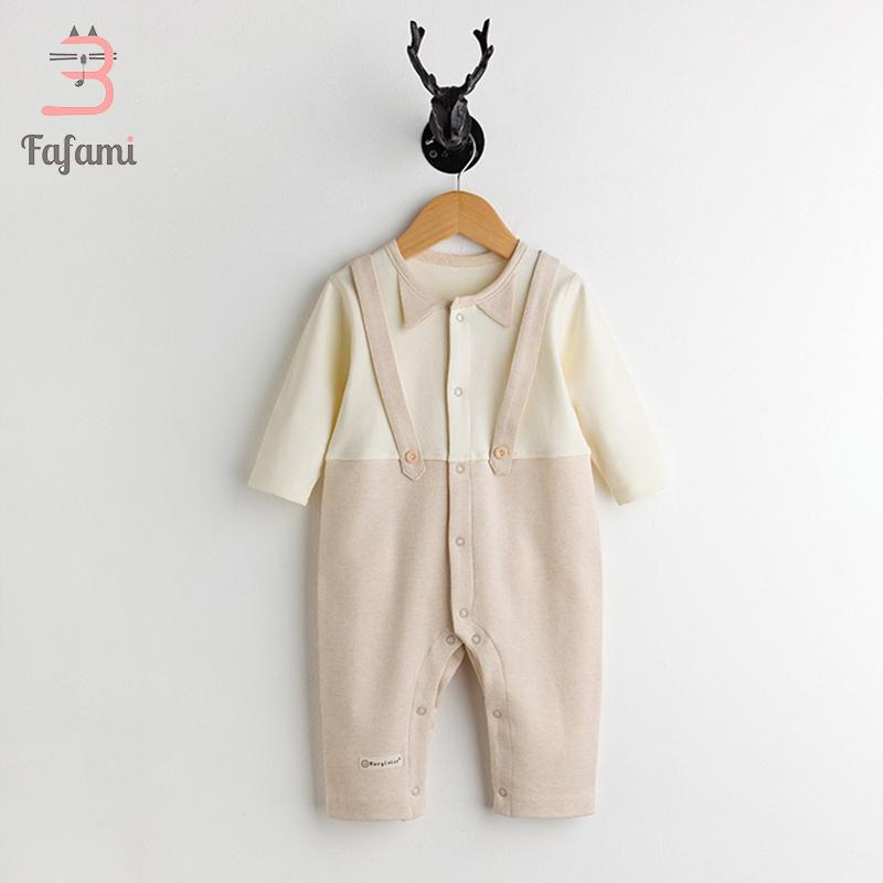 bee2dc47f1e0c Baby rompers newborn baby boy clothes Organic cotton girl clothing babies  Long sleeve Jumpsuit romper winter sleepwear
