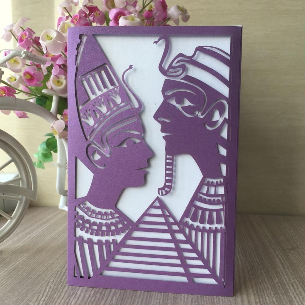 India Style Pearl Paper Wedding Card Initations 2018 Greeting