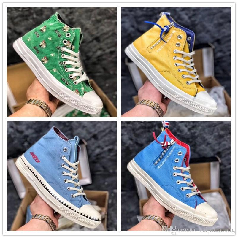 2018 Chuck 70 All Star Shoes For Men Women Brand Casual High Top Classic Skateboarding Canvas Running Sneakers size 36-44 cheap sale cheapest price free shipping Cheapest ceYwHnJGP6