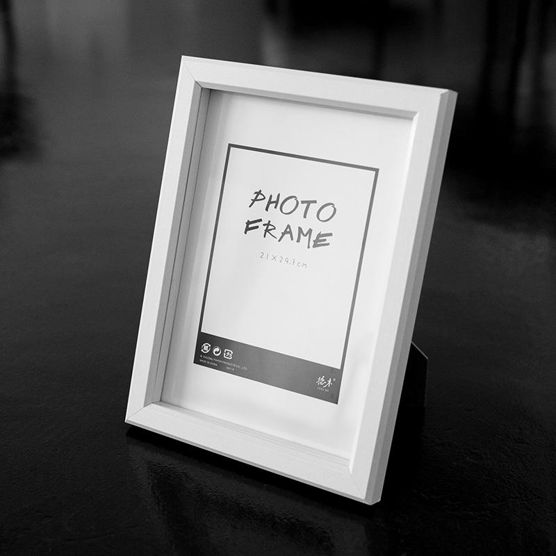 2018 Wholesale Free Shipment A4 Photo Frames White European Style ...