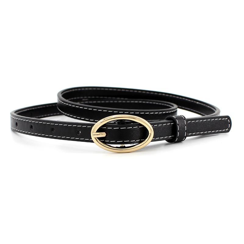 0ddb742fc8 High Quality 2018 New Fashion Thin Strong 1.3cm Width Women Belt Brand  Designer Hot Ladies Metal Buckle Straps Girls Web Belt Studded Belt From  Qualitywatch ...