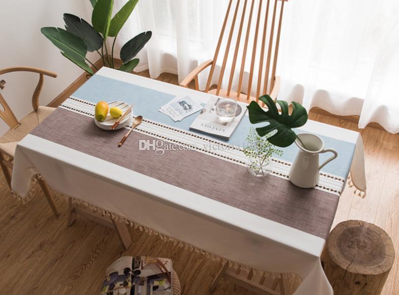 Arredare Sala Da Pranzo Moderna : Acquista 100 * 140 cm moderna decorativa tovaglia nappa icace