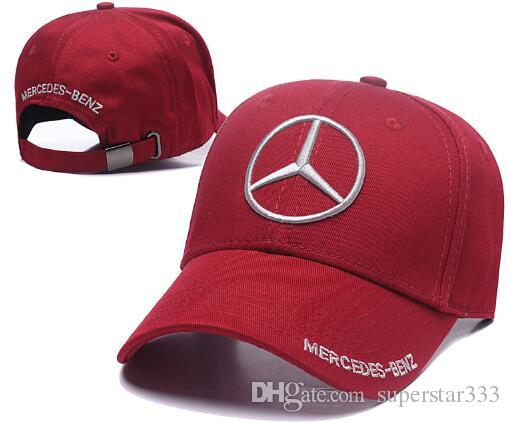 30be9acb731 2019 High Quality Mercedes Benz Cap Hamiltons Signature Snapback Hat F1  Champion Racing Sports Baseball Chapeau Automobile Casquette Gorras 01 From  ...