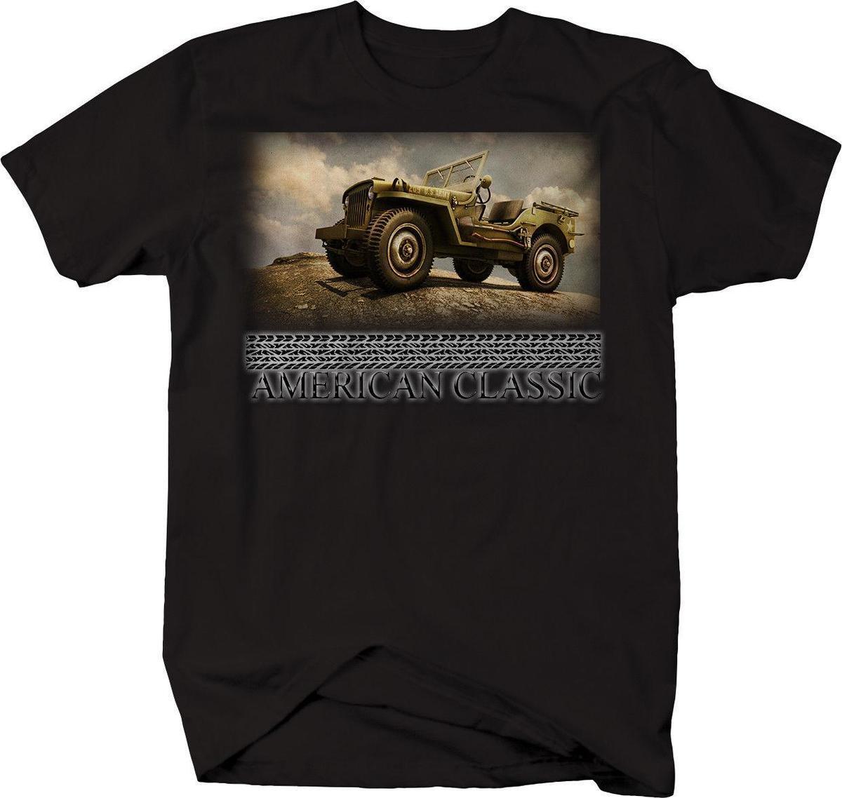 Enfants Garçons Filles Américain Jeep T-shirt Armée Américaine Usa Militaire T-shirts, Hauts