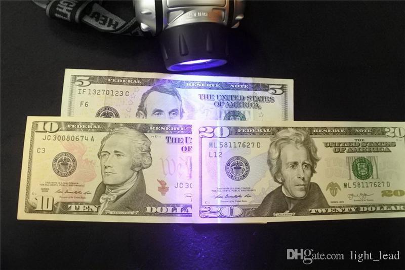 19 LED UV Headlamp 4 Light Modes Adjustable UV Light for Detects Scorpions Pet Urine Stains Auto Oil and HVAC Leaks