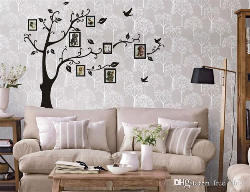 Acheter en gros photo arbre stickers muraux salon décorations pour