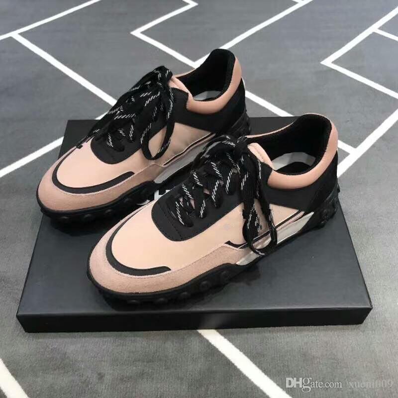 97723c11405 Compre Terciopelo Negro Para Mujer Para Hombre Zapatos Casuales Plataforma  Hermosa Zapatillas De Deporte Casuales Diseñadores De Lujo Zapatos  Plataforma De ...