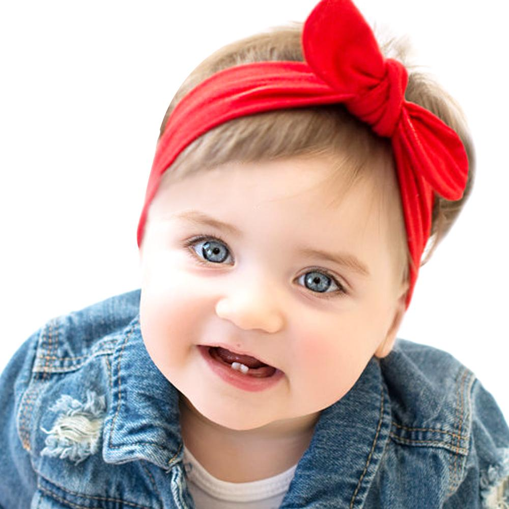 2d310a8f899 2018 New Baby Girl Solid Knot Headband Kids Coon Turban Knied Hair  Accessories Children Cross Headwear For Children KT016 Silk Flower Hair  Accessories ...