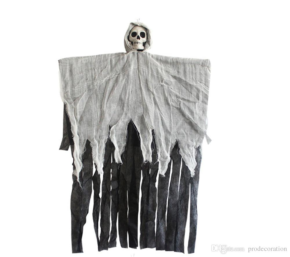 Mysterious Horror Halloween Decorations Halloween Hanging Ghosts Reaper Ghost Haunted House Escape Scary Skeleton Haunted For Decor